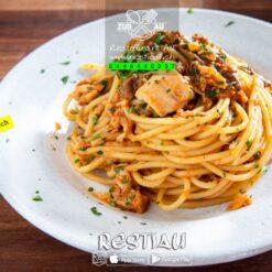 Spaghetti Zur Au   pasta   restiau