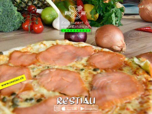 Pizza Al Salmone | pizza | restiau