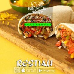 Burritos mit Crevetten-Gemüsefüllung   Burritos   restiau