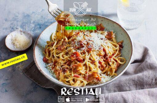 Spaghetti Carbonara   pasta   restiau