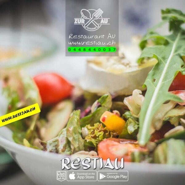 7 Spices Kalbsleber Streifen - Salate - restiau - restaurant zur au - resti au