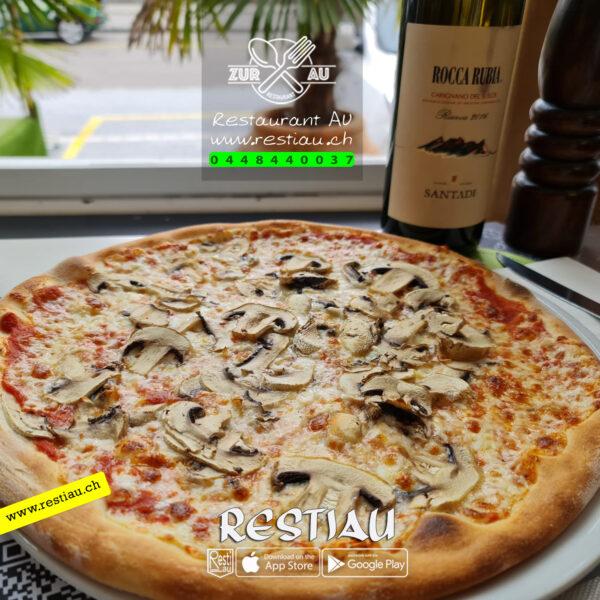 Ai Funghi - pizza -restiau - restaurant zur au - resti au