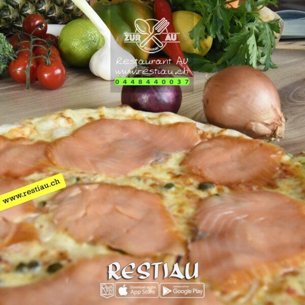 Al salmone - Pizza - restiau - restaurant zur au - resti au