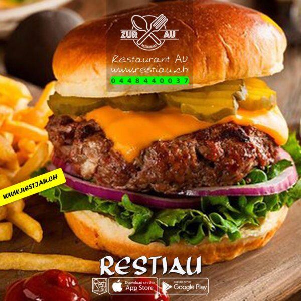 Classic Burger _ Burger - restiau - restaurant zur au - resti au