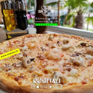 Furtti di Mare - pizza -restiau - restaurant zur au - resti au