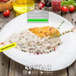 Rahmschnitzel Poulet   Fleischgerichte   restiau