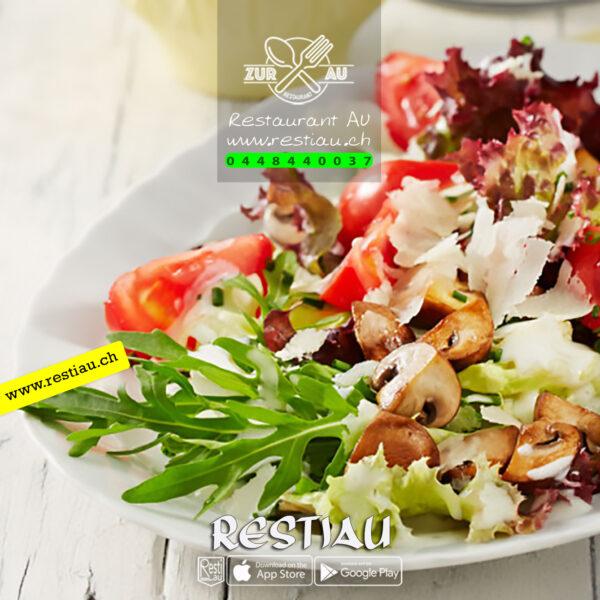 Salat-zur au art - Salate - restiau - restaurant zur au - resti au