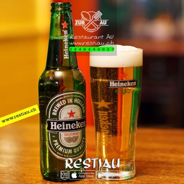 Heineken Bier - Biere - Beer - restiau - restaurant zur au - resti au