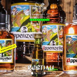 appenzeller krauter honig likor 35% - Alkoholische Getränke - restiau - restaurant zur au - resti au