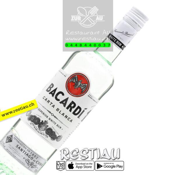 bacardi carta bla 37% - Spirituosen - restiau - restaurant zur au - resti au