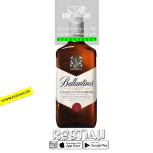 ballantines whisky 40% - Spirituosen - restiau - restaurant zur au - resti au