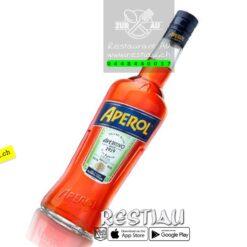 Aperol Bitter (11%)   Spirituosen   restiau
