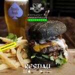 club burger black lady - black-lady-burger - Burger - restiau - restaurant zur au - resti au