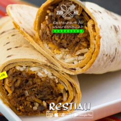 burritos mit Rinds Streifen | restiau