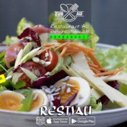 Chef-Salat mit Black Tiger (Crevetten) | Salate | restiau