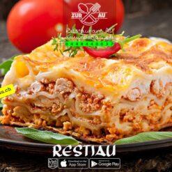 Hausgemachte Lasagne Bolognese   pasta   restiau