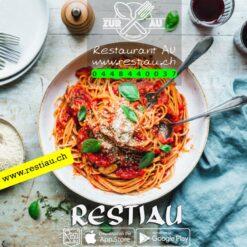 Spaghetti Napoli   pasta   restiau