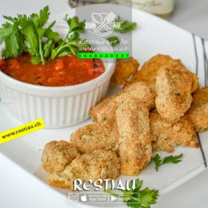 finger mozzarella (12pieces) - Fleischgerichte - restiau - restaurant zur au - resti au