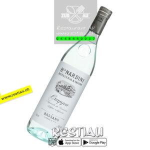 grappa nardini bianco 50% - Alkoholische Getränke - restiau - restaurant zur au - resti au