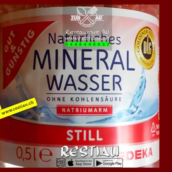 mineralwasser ohne kohlensaure 0.5 - Alkoholfreie Getränke - restiau - restaurant zur au - resti au