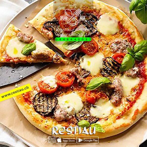 pizza siciliana - Pizza - restiau - restaurant zur au - resti au