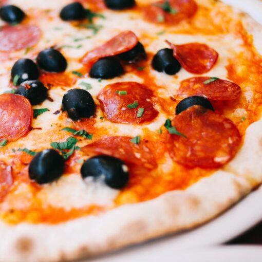 pizza tre gusti piccante | restiau