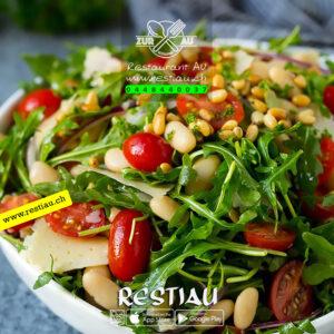 rucola salat - Salate - restiau - restaurant zur au - resti au