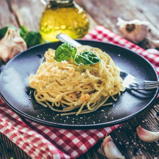 Spaghetti aglio e olio | pasta | restiau
