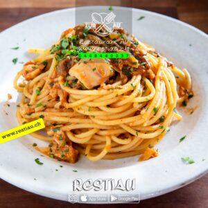 spaghetti zur au - Pasta - restiau - restaurant zur au - resti au