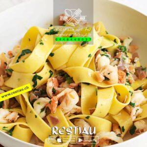 tagliatelle zur au - Pasta - restiau - restaurant zur au - resti au