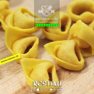 tortelini - Pasta - restiau - restaurant zur au - resti au