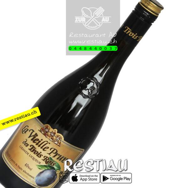 troisrois vieille prune 40% - Spirituosen - restiau - restaurant zur au - resti au